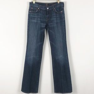 7 For All Mankind Bootcut Med Wash Size 29